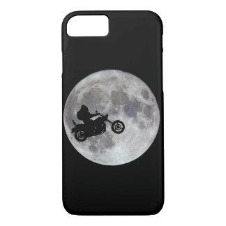 Big foot, big bike and a big bright moon iPhone 7 case