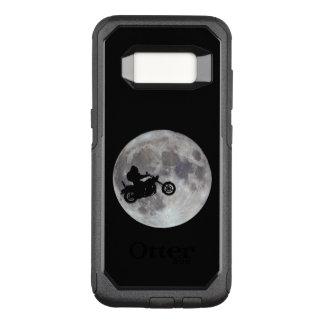 Big foot, big bike and a big bright moon OtterBox commuter samsung galaxy s8 case