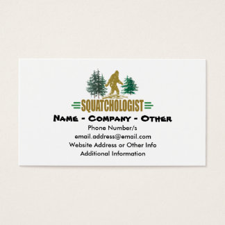 Big Foot Business Card