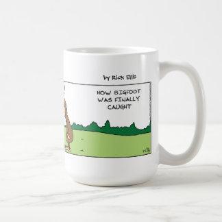Big Foot Caught Coffee Mug