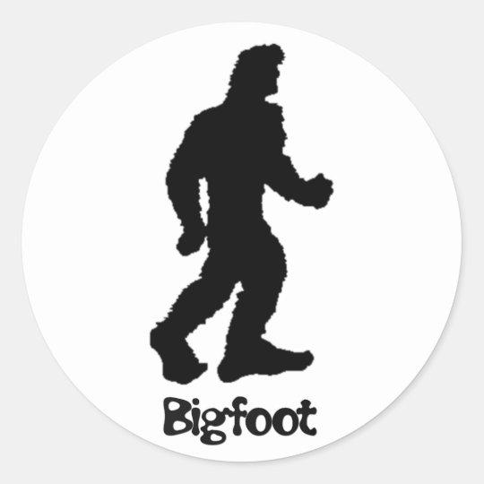 Big Foot Classic Round Sticker