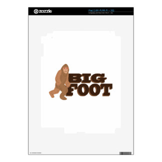 Big Foot Decals For iPad 2
