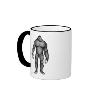 Big Foot (Gentle Giant) Ringer Coffee Mug