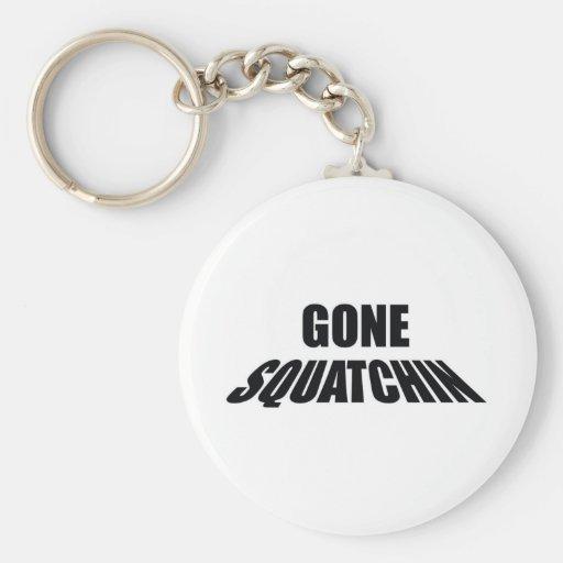 Big Foot Gone Skatchen Basic Round Button Keychain