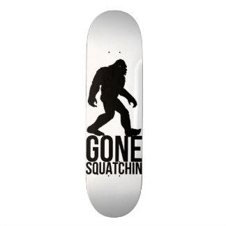 Big foot gone squatchin skateboard