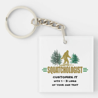 Big Foot Keychain