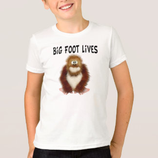 Big foot Lives T-Shirt