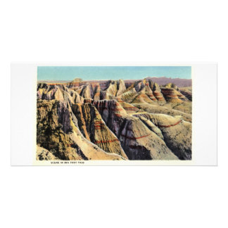 Big Foot Pass, Badlands, South Dakota Card
