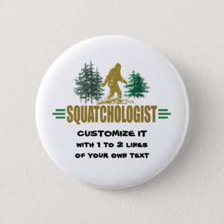 Big Foot Pinback Button