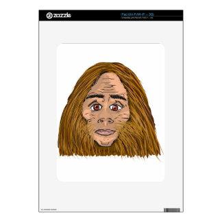Big Foot Sketch iPad Decal