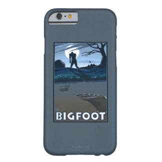 Big Foot walking through Golf Course Barely There iPhone 6 Case