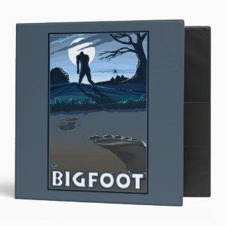 Big Foot walking through Golf Course Binder