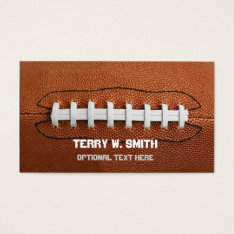 Big Football Business Cards at Zazzle