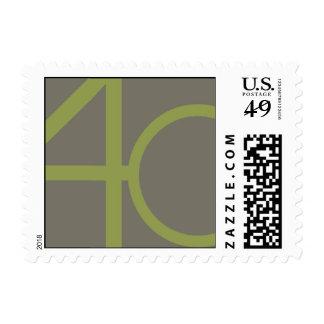 Big Forty Postage Stamps