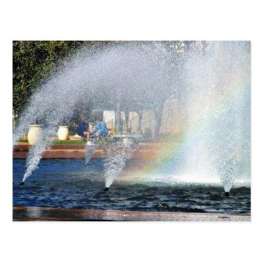 Big Fountain In Balboa Park Postcards