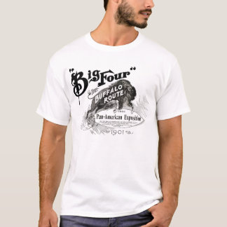 Big Four Buffalo Route Pan American Expo 1901 NY T-Shirt