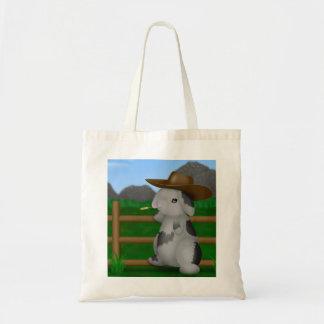 Big Frank the Cow-Bunny Tote Bag