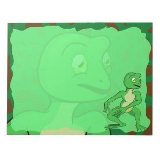 BIG Frankie Frog Memo Pad