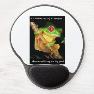 Big frog small pond mousepad! alfombrilla con gel