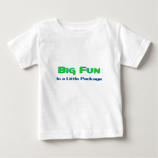 Big Fun in a little package Baby T-Shirt