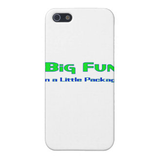 Big Fun in a little package Covers For iPhone 5