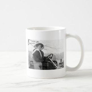 Big Fur Coat, early 1900s Classic White Coffee Mug