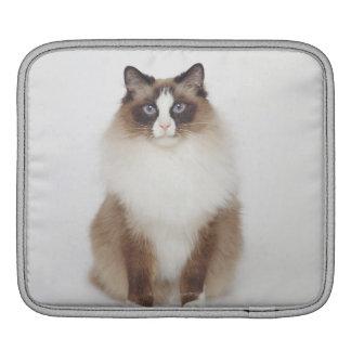 Big Furry Cat Sleeve For iPads