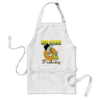 Big Game Fishing Adult Apron