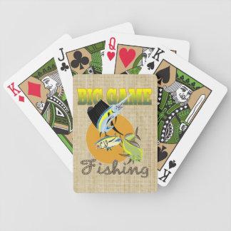 Big Game Fishing Bicycle Playing Cards