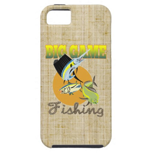 Big Game Fishing iPhone 5 Cases