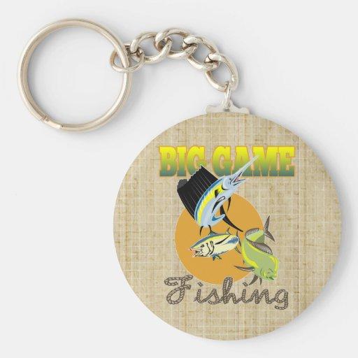 Big Game Fishing Key Chains