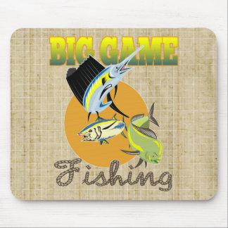 Big Game Fishing Mouse Pad