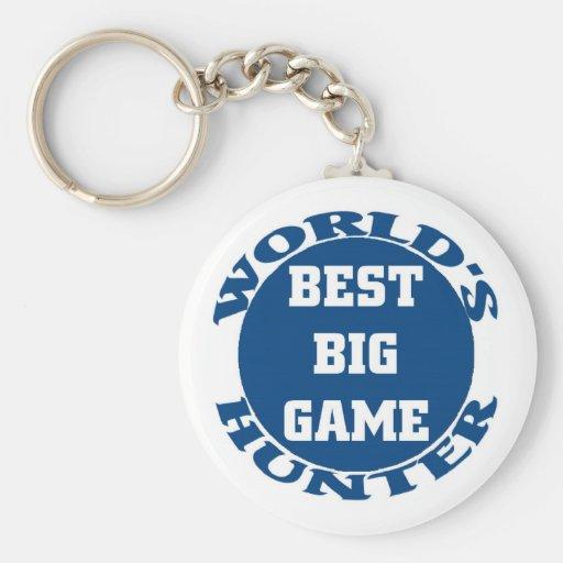 Big game Hunter Key Chains