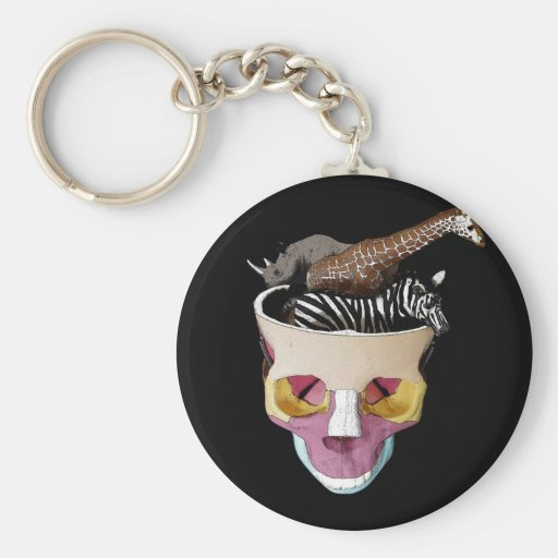 Big Game On The Mind Key Chains