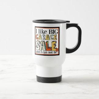 Big Garage Sales Travel Mug - White