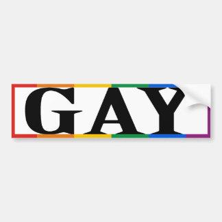 BIG GAY -.png Car Bumper Sticker