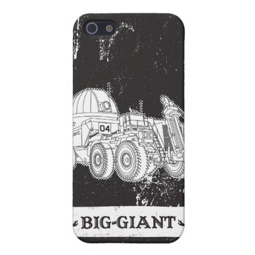Big Giant 4 iPhone 5 Covers