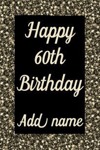 Big Giant Special Personalised 60th Birthday Card