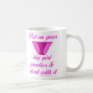 Big Girl Panties Coffee Mug