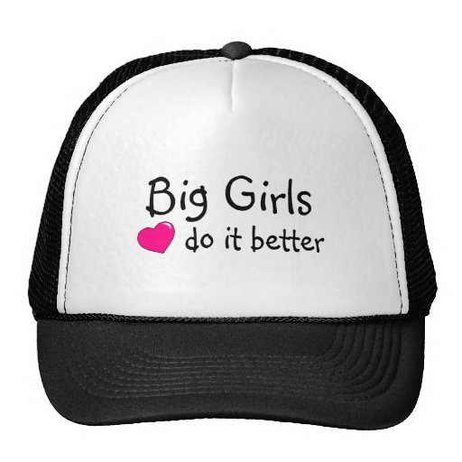 Big Girls Do It Better Mesh Hat