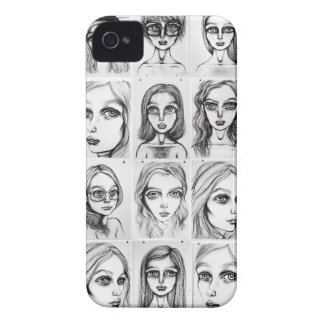 Big Girls Pattern IPhone 4 Barely There Case Case-Mate iPhone 4 Cases