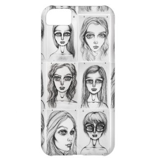 Big Girls Pattern iPhone 5 Barely There Case Cover For iPhone 5C