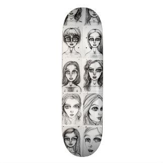 Big Girls Pattern Skate Deck