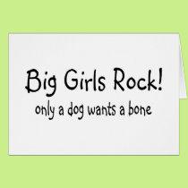 Big Girls Rock Card