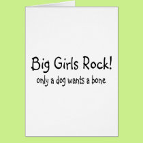 Big Girls Rock Card
