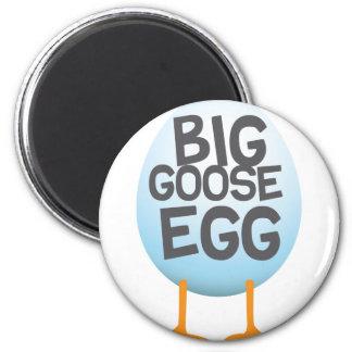 Big Goose Egg Games 2 Inch Round Magnet
