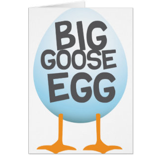 Big Goose Egg Games Card