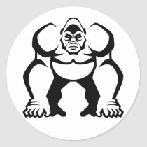 Big Gorilla Classic Round Sticker