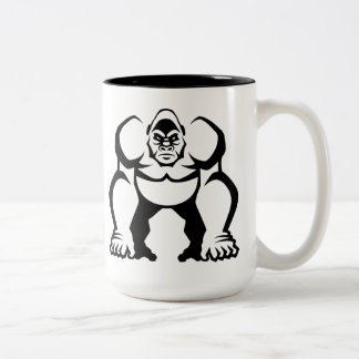 Big Gorilla Two-Tone Coffee Mug