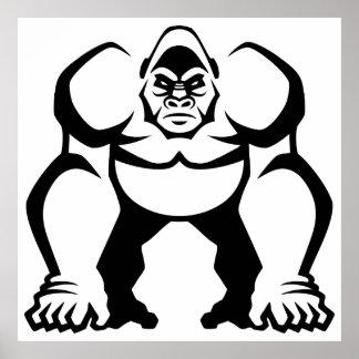 Big Gorilla Poster
